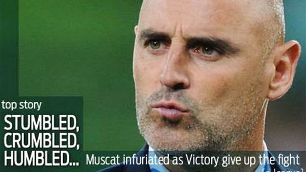 Muscat: Victory just seemed to crumble