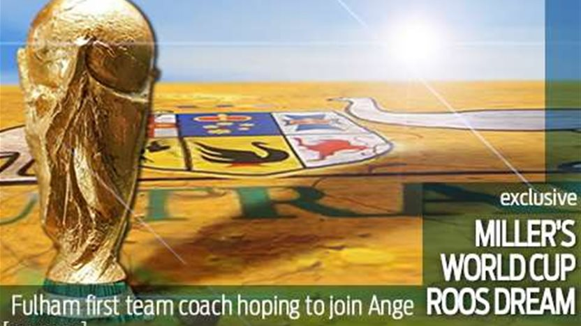 Miller's World Cup Roos dream