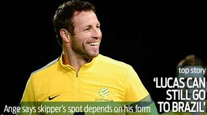 Ange: Still a place for Lucas in Brazil