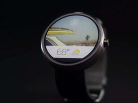 Android Wear: Google unveils its wearables OS