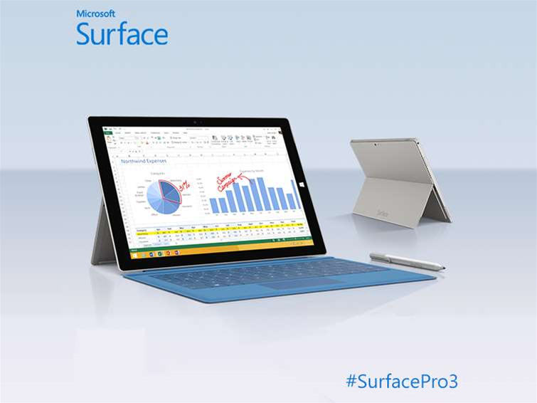 """Microsoft Surface Pro 3: Microsoft announces """"tablet that can replace your laptop"""""""