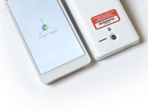 Google Project Tango tablets on the way