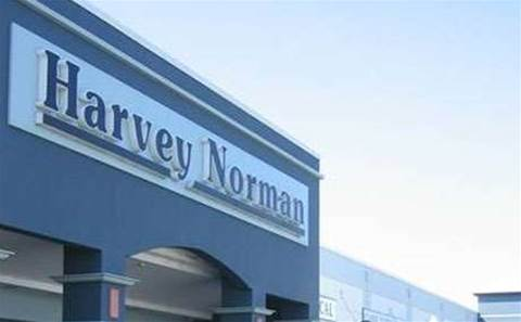Alleged Harvey Norman robber walks right into police