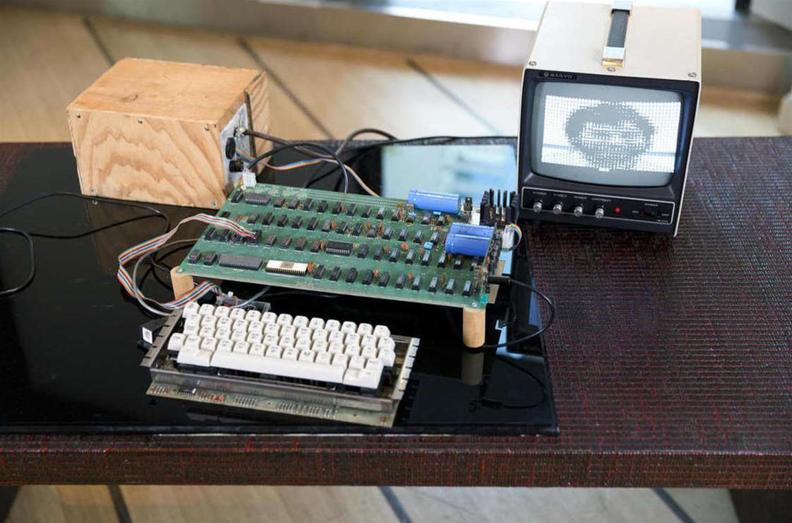 Early Apple computer sells for $1 million at auction