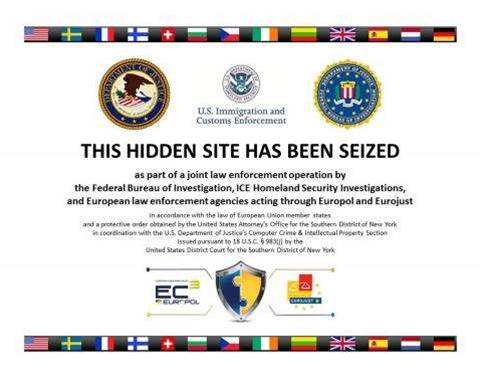 US shuts down Silk Road 2.0 website