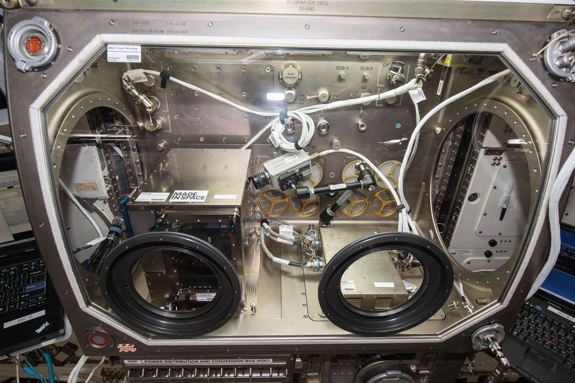 First 3D printer in space goes to work for NASA