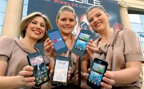 LG Australia's managing director and head of mobile depart