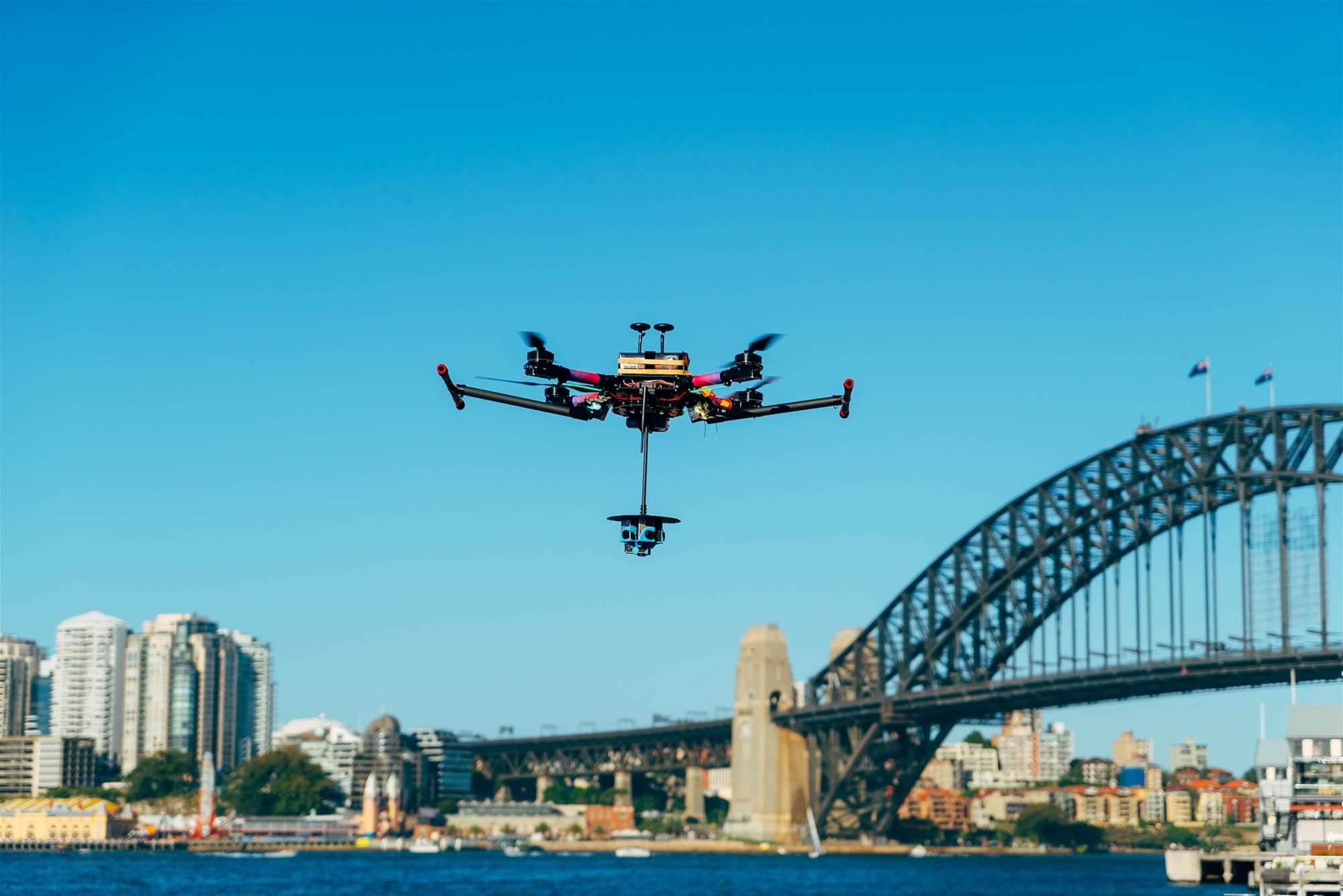 ABC, Telstra drones to capture NYE fireworks from 1000ft