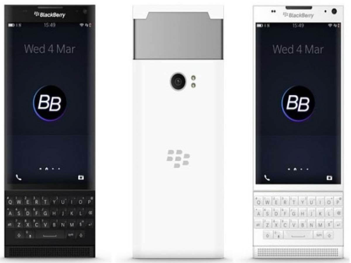 First look: BlackBerry's rumoured Android slider phone