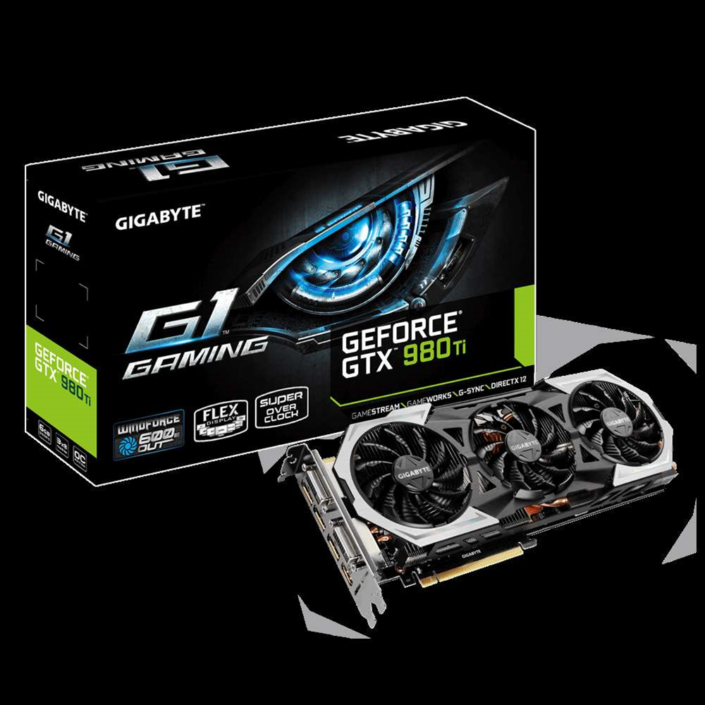 Gigabyte's latest GTX 980 Ti features Windforce cooling