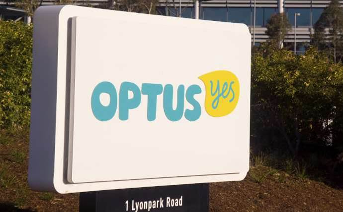 Optus' full-year net profit fell 12 percent