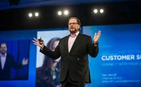 "Salesforce dubs SAP, Oracle ""cloud deniers"" as it closes stellar quarter"