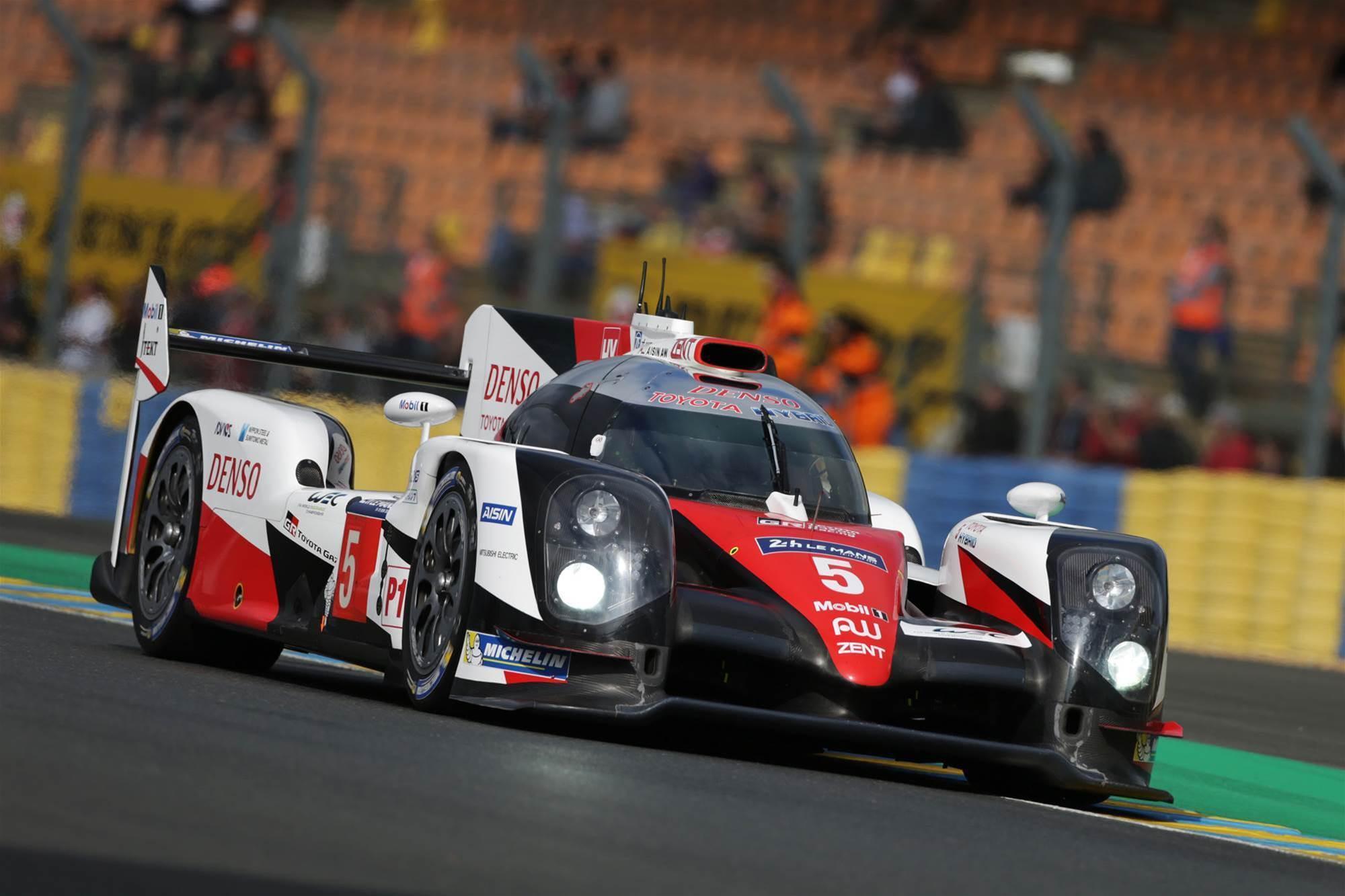 Toyota reveals three-car Le Mans assault