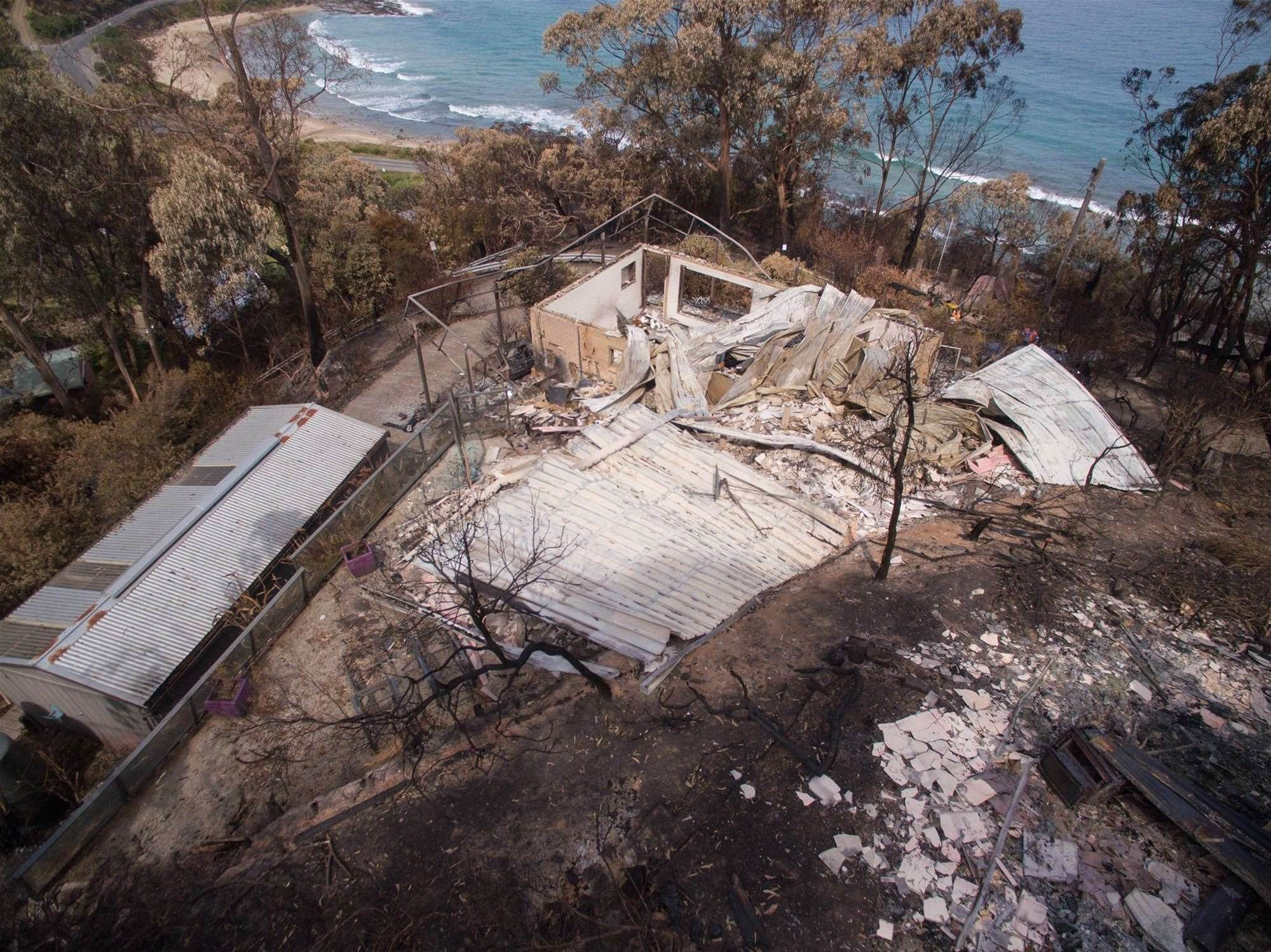 Insurance drones speed claims for Victorian bushfire victims