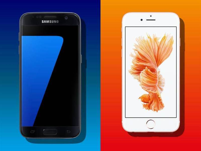 Head-to-head: Samsung Galaxy S7 vs Apple iPhone 6s