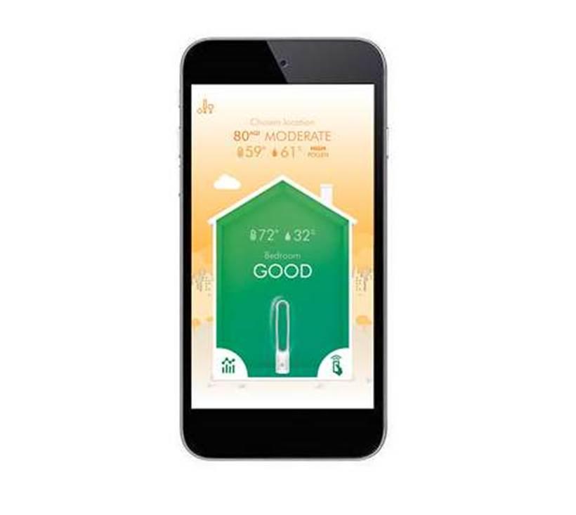 Dyson infuses IoT into purifier fan