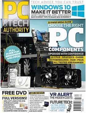 The new issue of PC & Tech Authority magazine is onsale now and it's a must-have