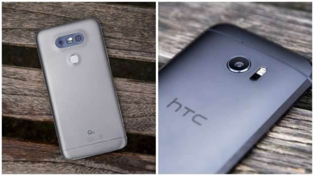 HTC 10 vs LG G5: flagship smartphones compared
