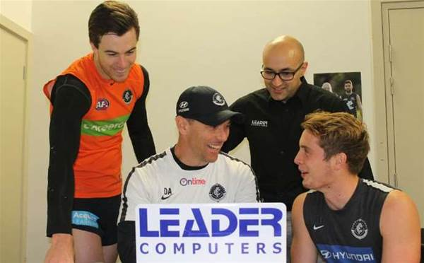 Leader Computers signs with AFL's Carlton