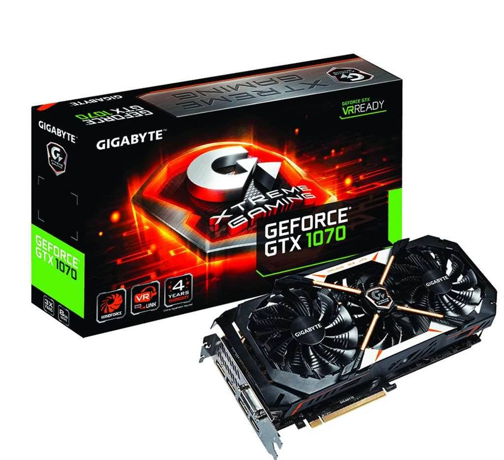 Review: Gigabyte GeForce GTX 1070 Xtreme Gaming