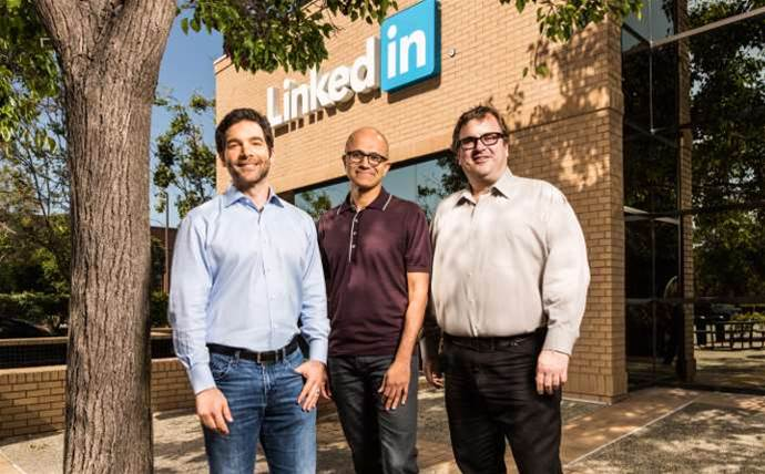 What do you think of Microsoft acquiring LinkedIn for US$26 billion?