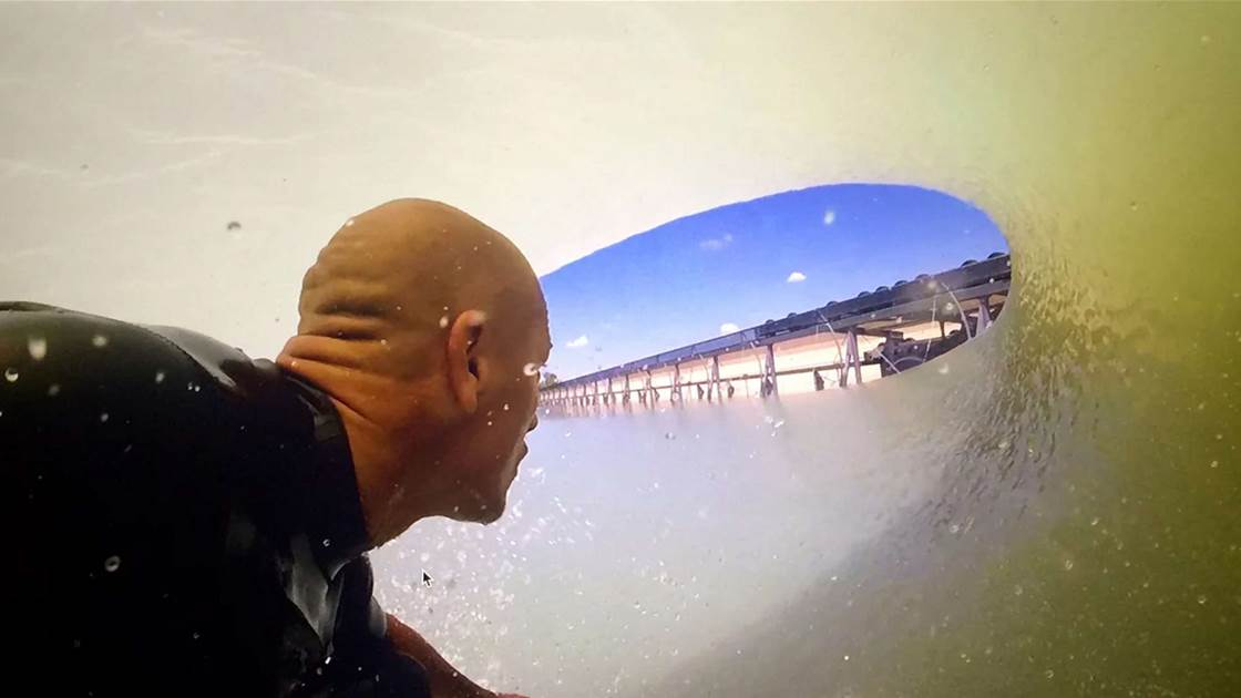 Kelly Slater is giving away two Golden Tickets to his wave pool