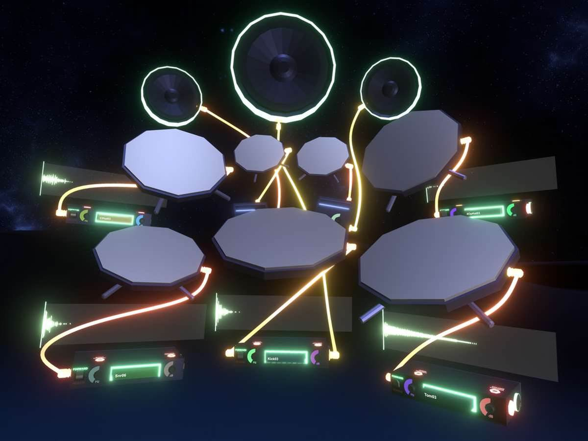Meet the virtual reality game that might have just killed the music studio