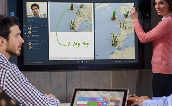 Microsoft names Surface Hub partners