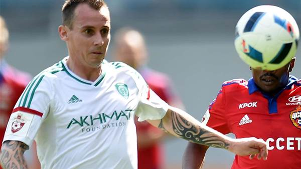 Wilkshire released by Russian club