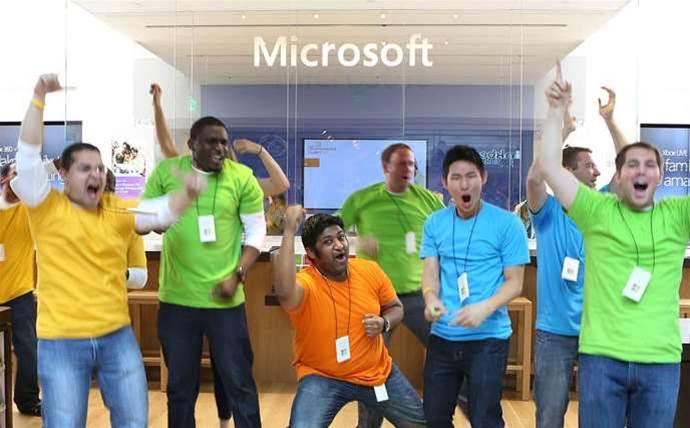 Microsoft takes SaaS crown from Salesforce