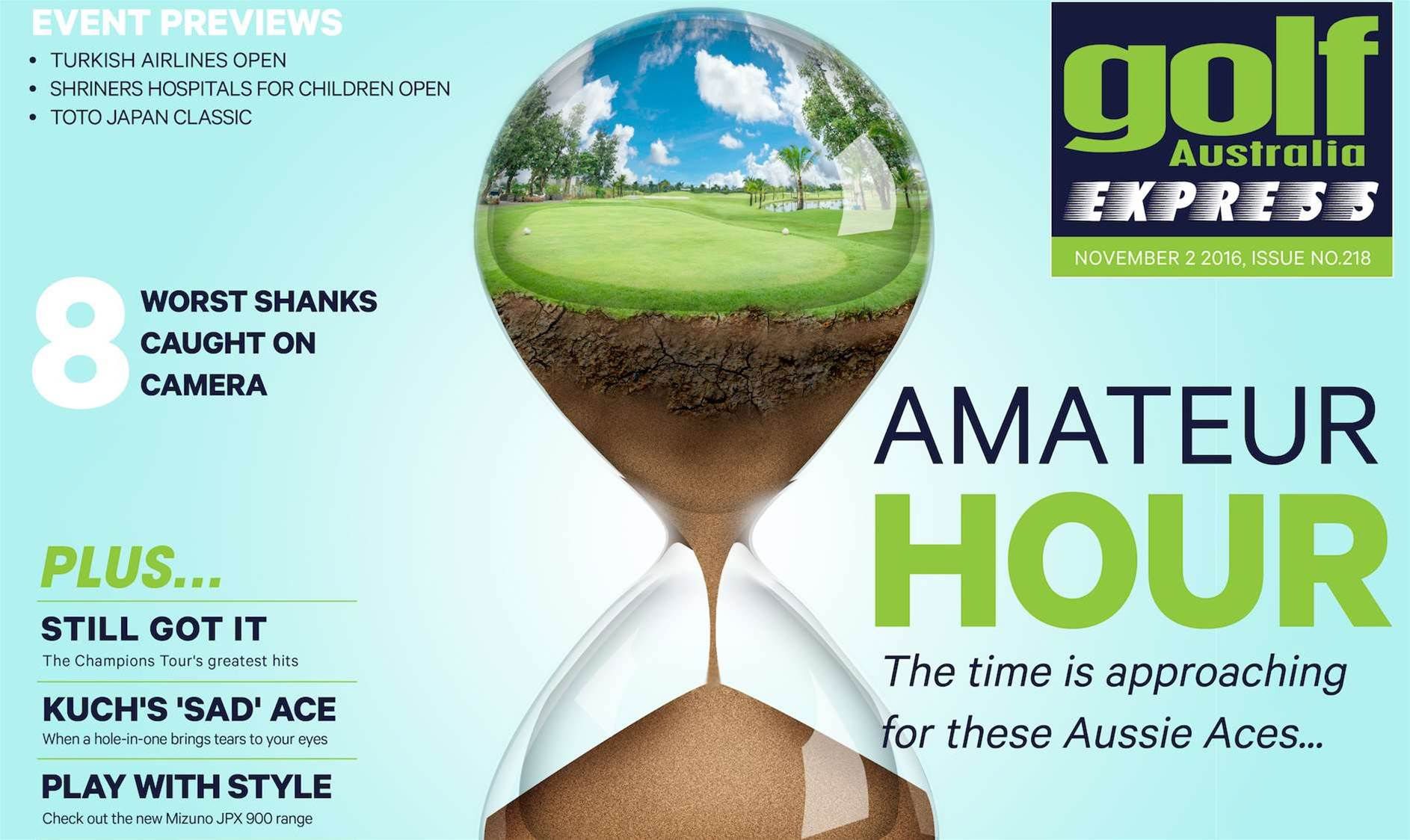 GA Express Issue 218: Amateur Hour