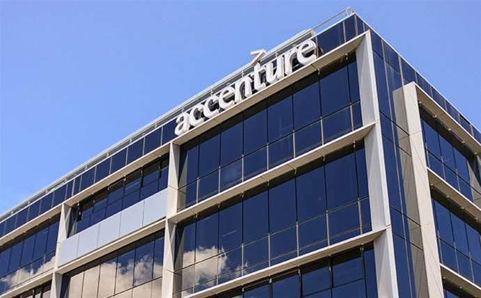 Accenture moved half of its business to digital, cloud and security