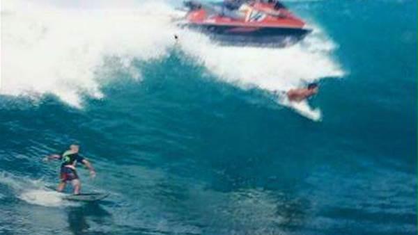 Breaking: Jet Ski Runs Over Surfer At Uluwatu