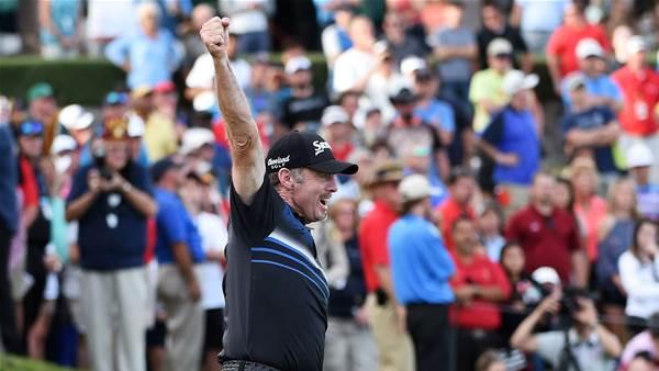 PGA TOUR: Pampling turns back the clock for Vegas victory