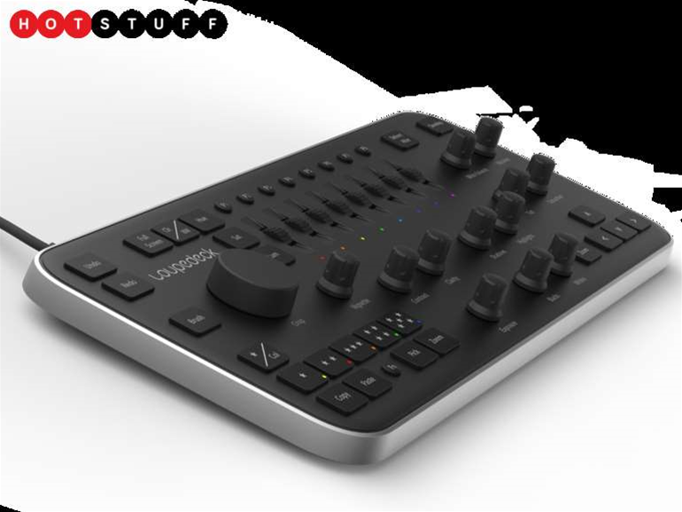 Loupedeck is a photo-editing console for fans of knob-twiddling