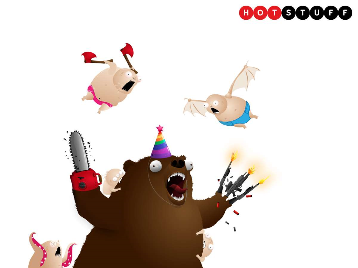 Bears vs Babies – a deranged card game from the Exploding Kittens creators