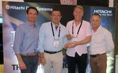 HDS awards top Australian partners