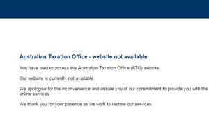 ATO online services suffer second outage in a week