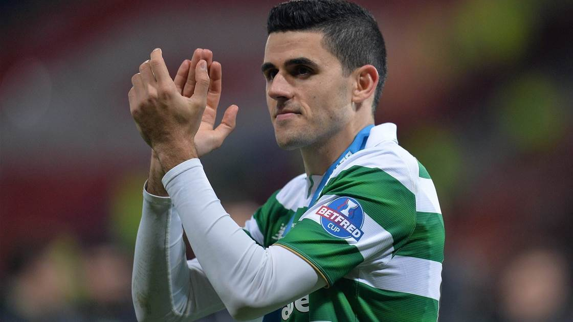 Rogic to miss Old Firm clash
