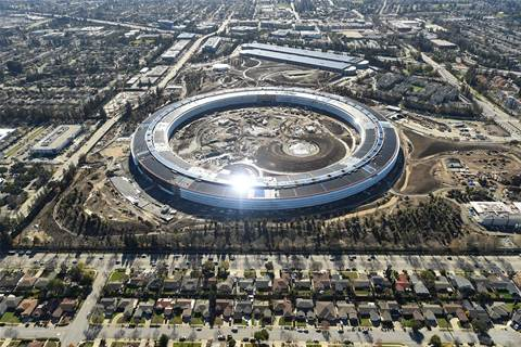 Apple's new US$5 billion headquarters opening in April