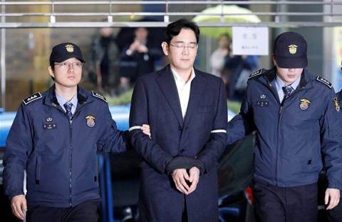 Samsung boss denies all charges as corruption trial begins