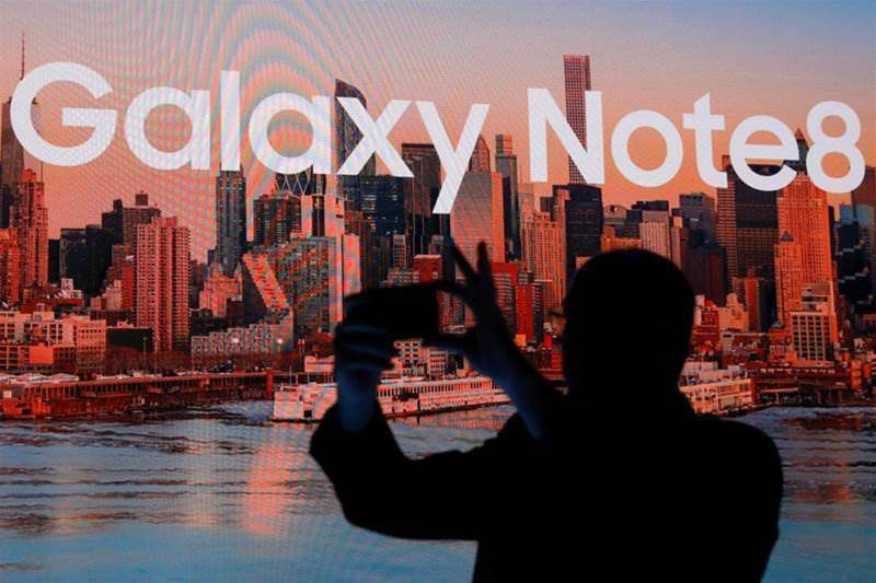 Samsung reveals Galaxy Note 8