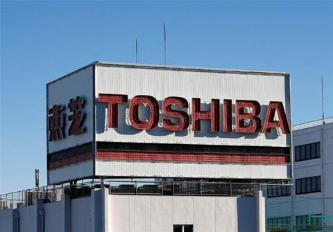 Toshiba signs US$18 billion chip unit sale