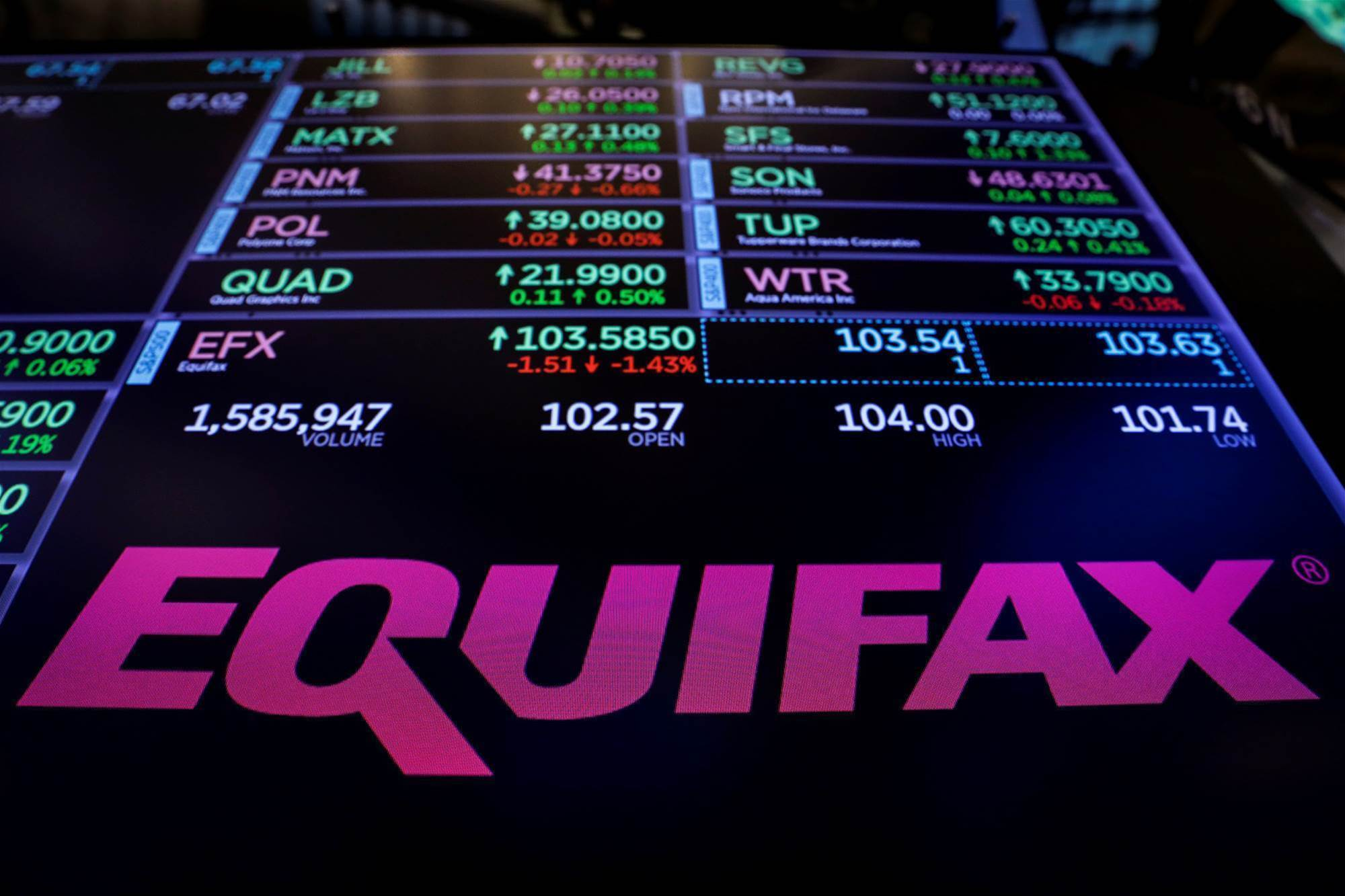 Equifax was alerted to security vulnerability in March