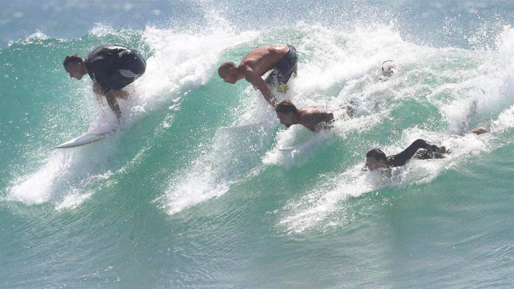 Zen and the Art of Surfing in Summer