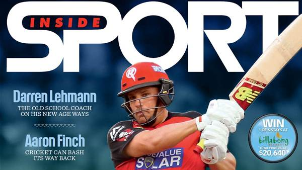 Feb 2017 Inside Sport out now