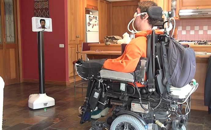 Australian company Aubot releases first commercially available brain-controlled telepresence robot