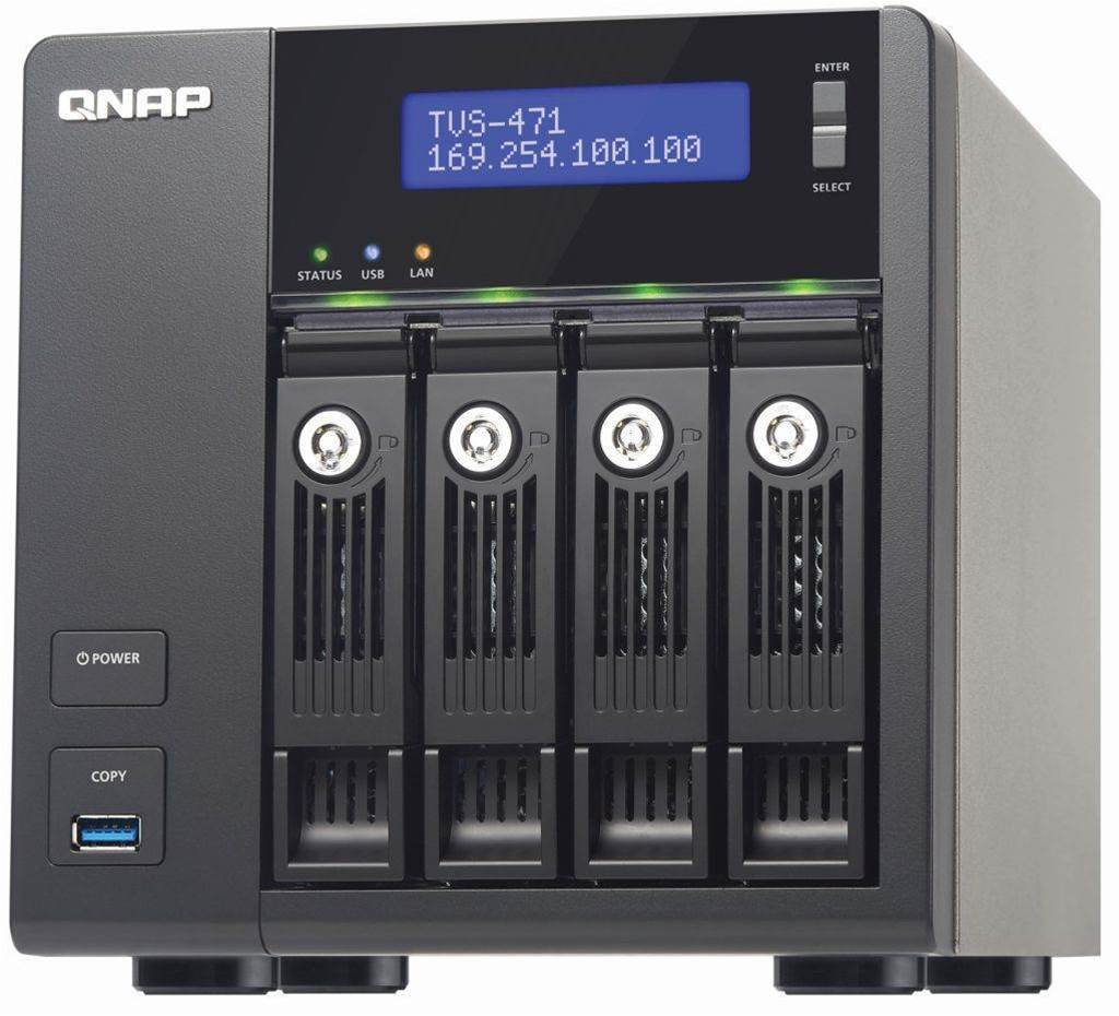 Review: Qnap TVS-471 Turbo vNAS rules your network