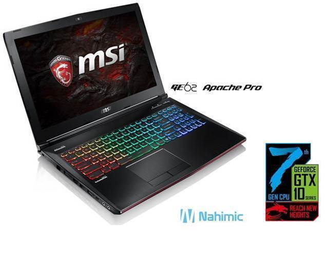 MSI up-specs gaming laptops for the entry-level range