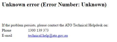 Fresh ATO outage as hardware struggles continue